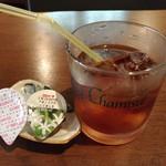 旬処味空間 - ランチサービスのアイスコーヒー