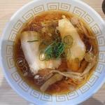 中村麺三郎商店 - 醤油ラーメン(真上から)