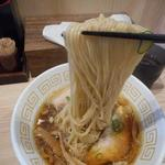 中村麺三郎商店 - 麺リフトアップ。ぬぉりゃ~大漁じゃ~
