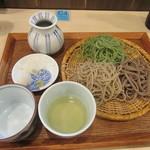 手打ち蕎麦 雷鳥 - 料理写真:5月の「三色そば」
