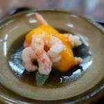 鈴木鮮魚店 - 料理写真:付け合せは南蛮海老