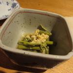 酒菜禅 - 料理写真:突きだし