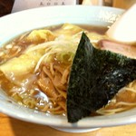 85149056 - いつものワンタン麺(魚介系)