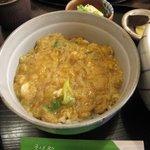 Sobadokoronishimura - セットのミニ玉子丼