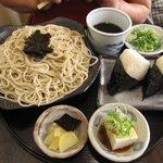 Sobadokoronishimura - おむすびざる定食