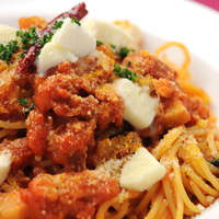 ガレリア - ベーコンとモツァレラチーズのスパゲッティ
