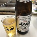 立ち呑み処おかの - 生ビールからの瓶で安定♡