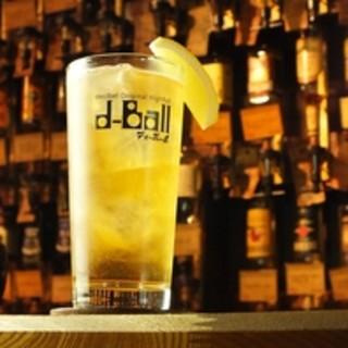 """【やみつき♪】オリジナルハイボ-ル""""d-Ball"""""""