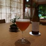 日本料理 鶴寿 - オリジナルビール(爽やか系)