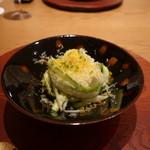 85154721 - 栃木と富良野産アスパラ 2種のチーズ和え