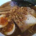 ラーメン サンガ - あっさり鰹麺に揚げ葱トッピング