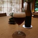 日本料理 鶴寿 - オリジナルビール(コク系)