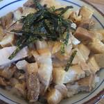ラーメン サンガ - ミニチャーシュー丼(らーめん雑誌のクーポンでライスがミニチャーシュー丼に)