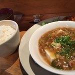 CAFE TARO - 日替り(麻婆豆腐)