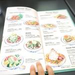 エッグスンシングス - menu