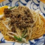 かつぎや - ・「汁なし担々麺 3辛(\850)」