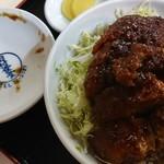 田村食堂 - ソースかつ丼♪