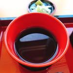 富久屋 - ざるそばの汁