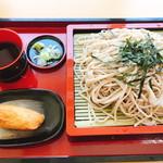 富久屋 - ざるそば(800円)
