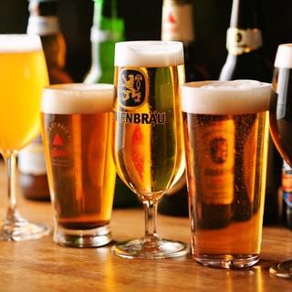コスパ抜群!世界中のビールを飲み比べ!