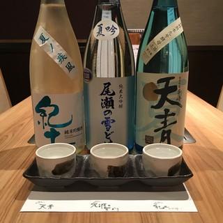【6月は日本酒飲み比べフェア!】