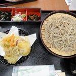 Seiryuunosato - 天ざる蕎麦