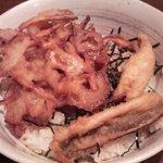 8516339 - 穴子天&野菜かき揚げ丼アップ