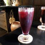 茶房こでまり - ブルーベリージュース