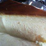 ドイツ菓子レーゲンス - ケーゼクーヘン、チーズの酸味と濃厚さが めちゃまいうー★☆