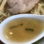 らー麺専科 海空土 - 【2018.4.28】煮干しが効いた優しいスープ。