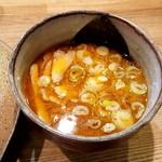 85162270 - 辛味つけ麺のつけ汁