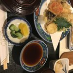 茂利川 - 天ぷら定食の松