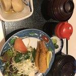 茂利川 - エビフライ定食