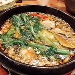 85165647 - 牡蠣と春野菜のアヒージョ❤️ボリュームもあり 美味しい♪
