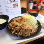 花咲か食堂 - 料理写真:生姜焼き定食