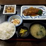 つぼつぼ - サバのぬか炊き定食(850円)