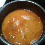 85169982 - スープ割り 今回は魚介で