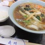 すし処 よし川 - 料理写真:ロースータンメン750円