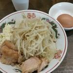 洋食 みやび - 脂そばミニ全マシ750円