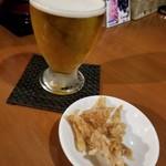 羅妃焚 - 一口ビール 291円