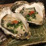 炭火串焼 もん - 岩手生牡蠣