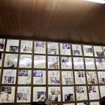 ラーメン寳龍 - 有名人のサインがいっぱい