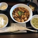 中国酒家 大天門 - 豆豉麻婆豆腐御膳