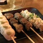 東京渋谷 炭火串焼 鳥横 -