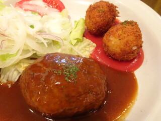 洋食家ロンシャン JR名古屋駅店 - バーコロSet(1,380円)