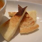 あかぎカフェ - 特製ポテトホットケーキ