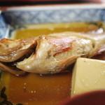 食い処 くりたや  - 2011/7 市場定食の煮魚