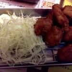 火一刀 - ひな鶏唐揚げ¥490-