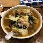 はしご屋 - 料理写真:一発ラーメン(縮れ麺)