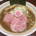 niboshichuukasobasuzuran - 中華そば(750円)